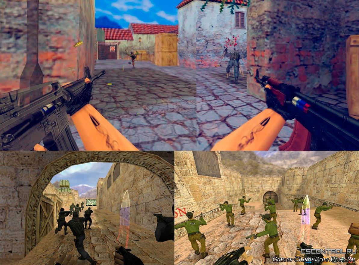 Модели оружия CS 1.6