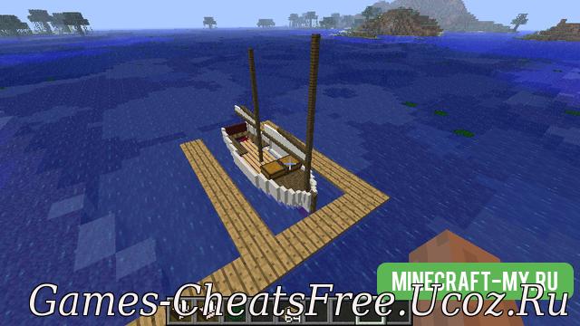 крафт в minecraft лодки